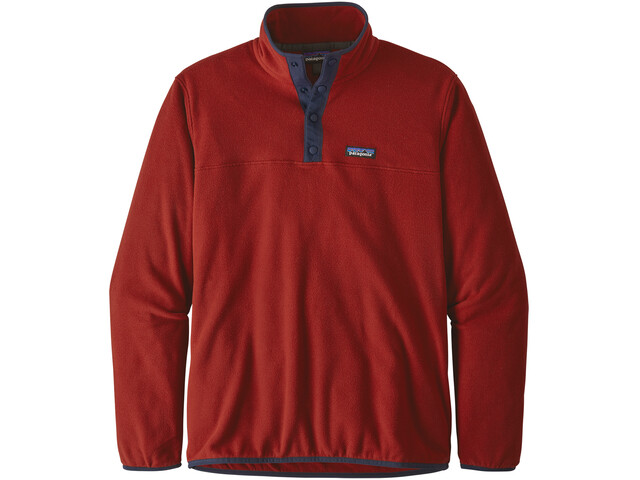 Patagonia Micro D Snap-T Giacca Uomo, molten lava